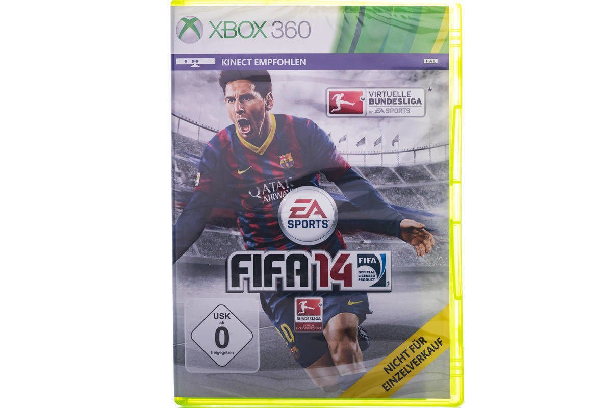 Game FIFA 14 Xbox 360 (ENG) E4H-00124 NEW SEALED