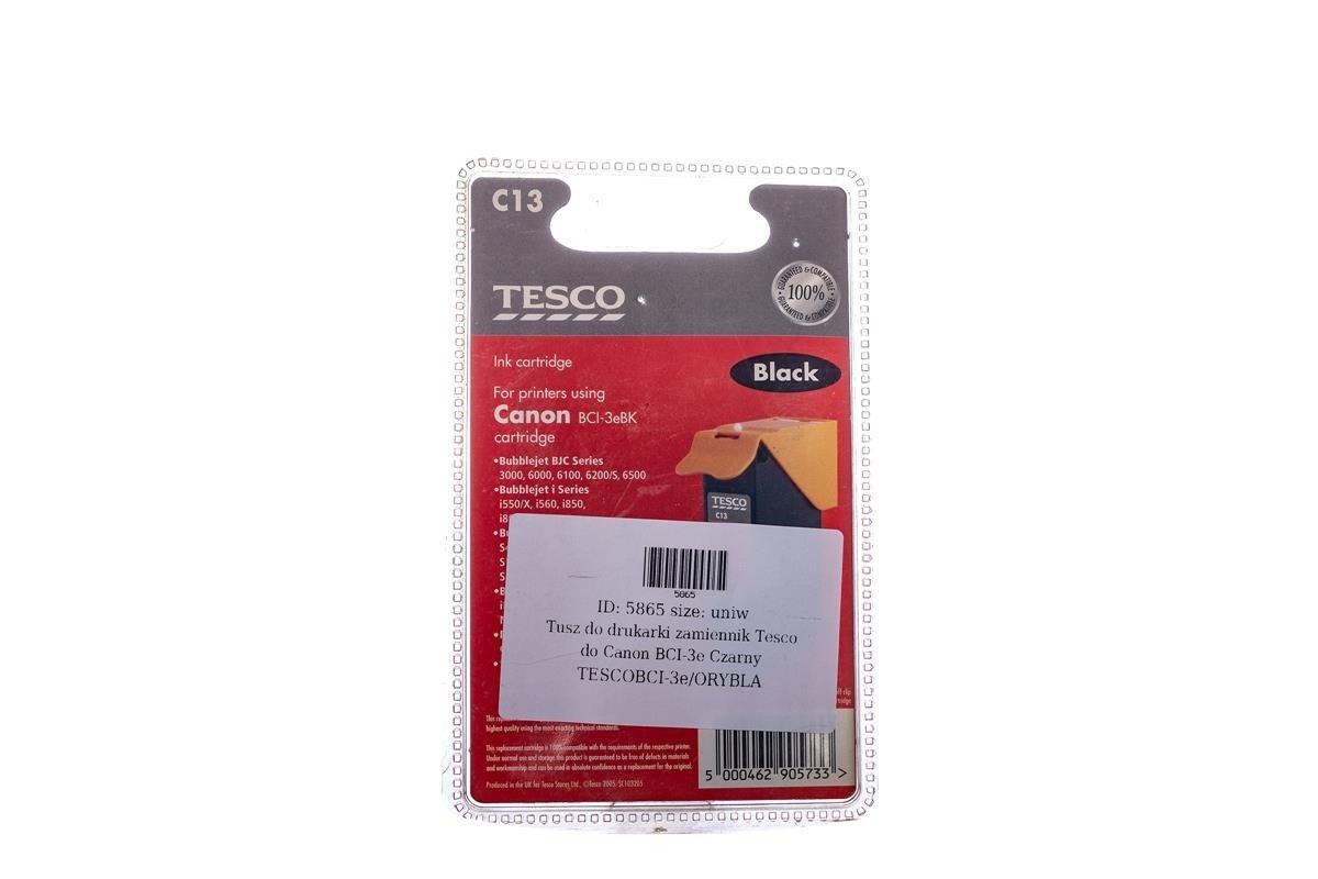 Remanufactured Ink cartridge Tesco Canon BCI-3e Black