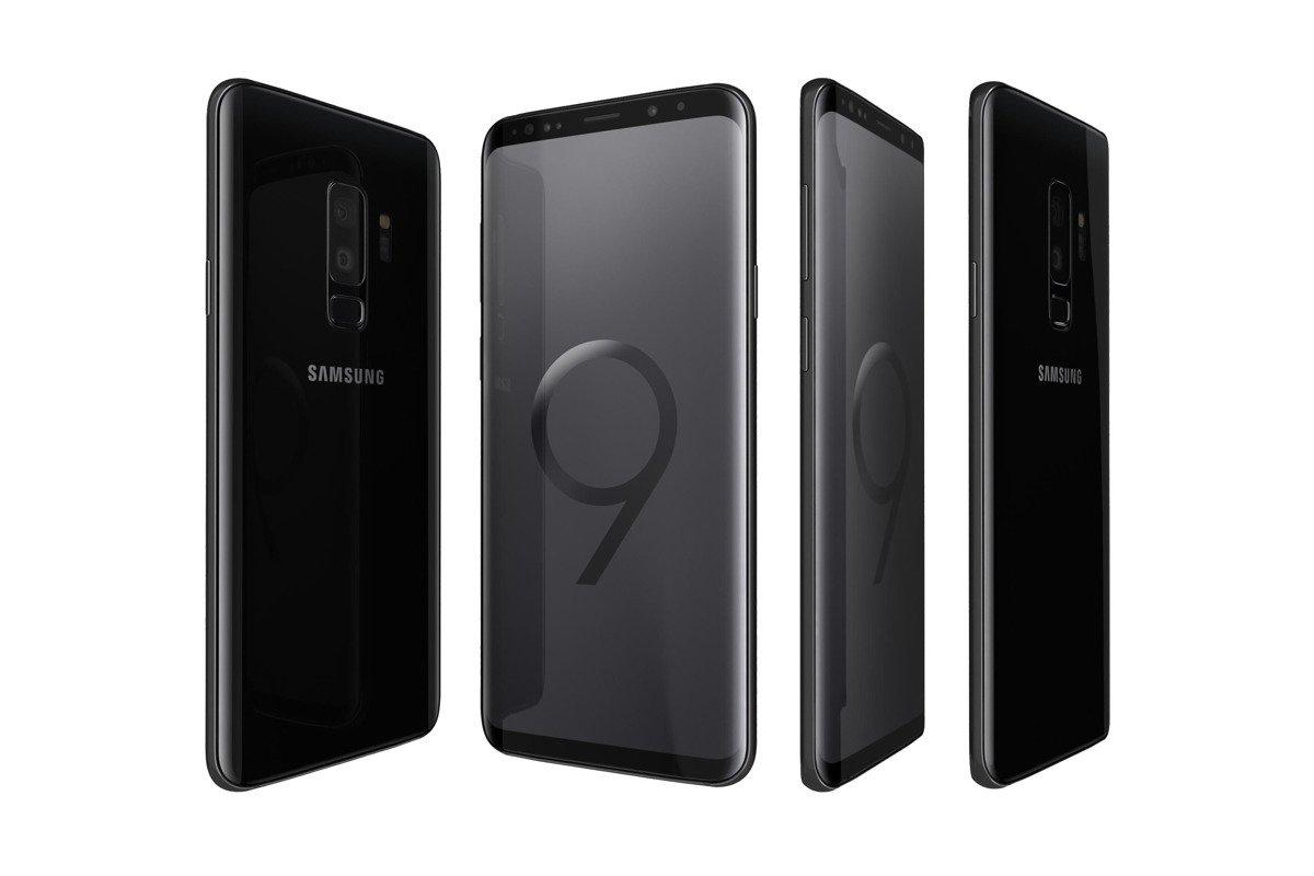 Samsung Galaxy S9+ Duos Midnight Black SM-G965F/DS Grade B