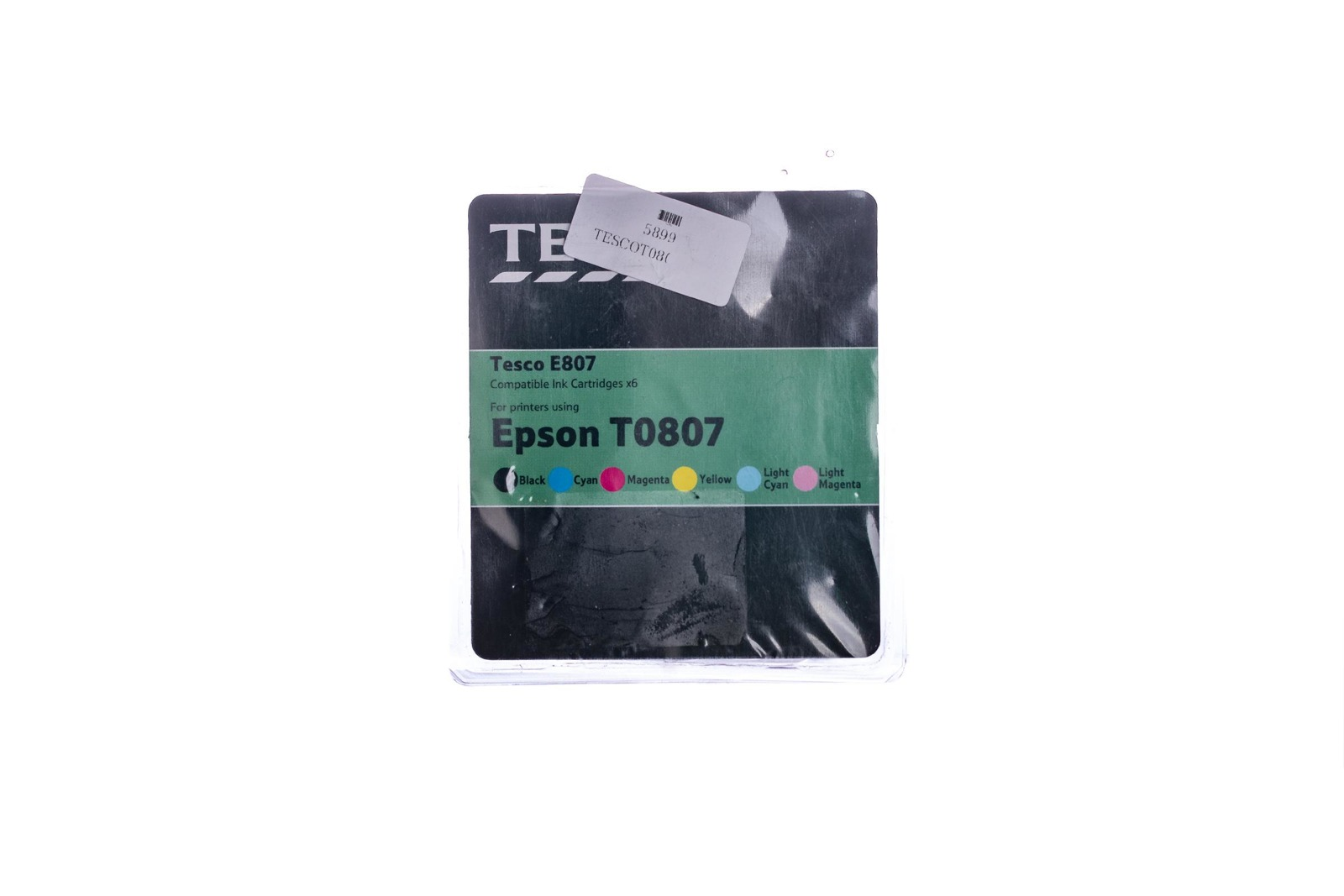 Remanufactured Ink cartridge Tesco Epson T0807