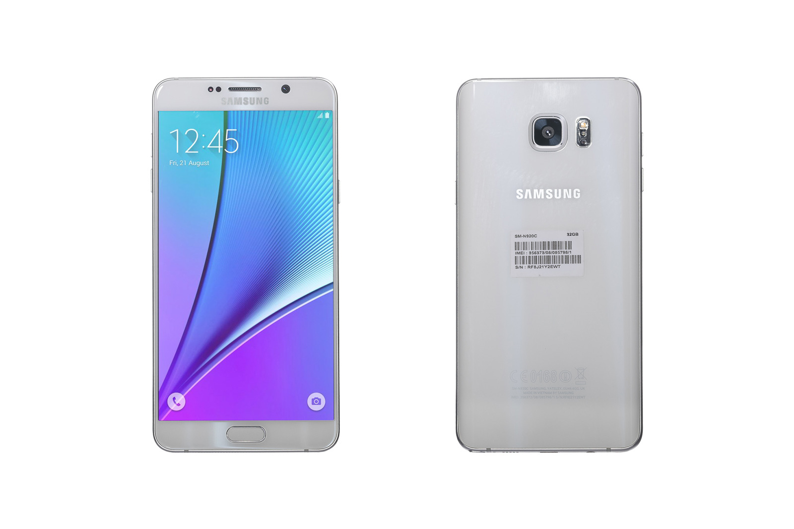 Samsung Galaxy Note5 4/32GB White Grade C