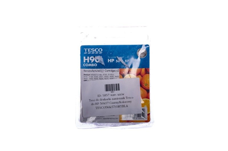 Remanufactured Ink cartridge Tesco HP 56&57 Black/Colour