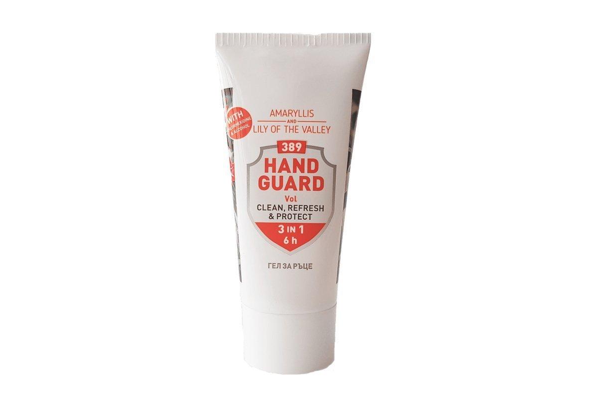 Antibakterielles Händedesinfektionsgel 389 Hand Guard 50 ml (Amaryllis und Maiglöckchen)