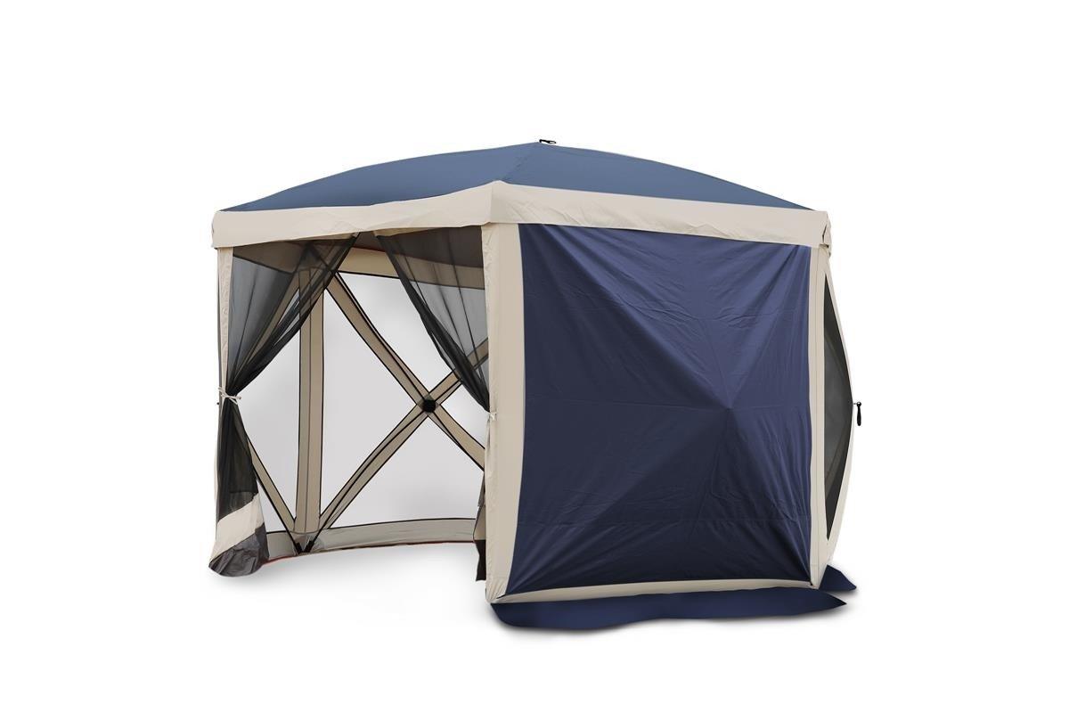 Gartenzelt Pavillon Moskitonetz All Camp Pop-up Blau L APL-T5006