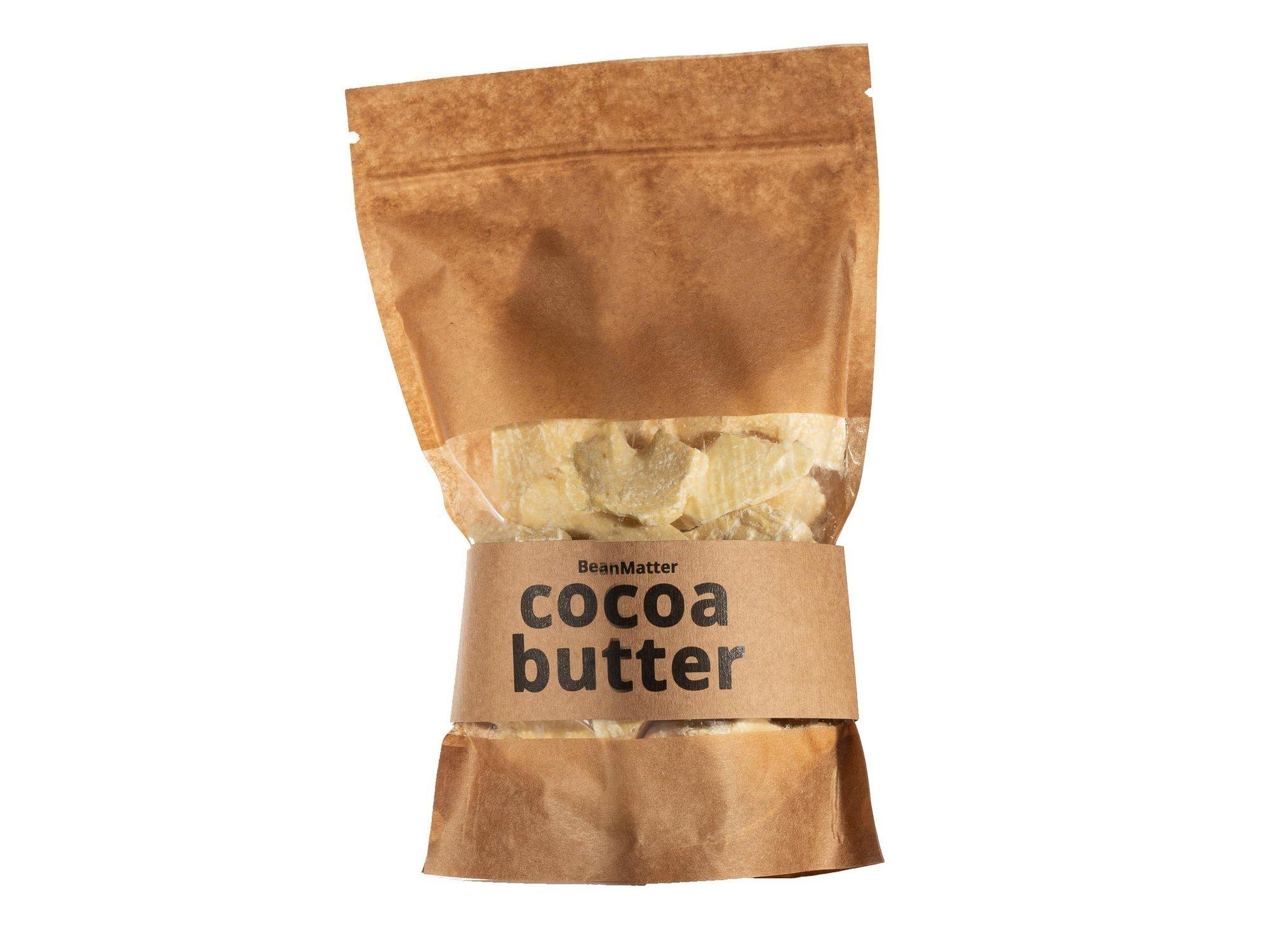 Kakaobutter - 500g - Bio natürliche unraffinierte Ecuador Lebensmittelqualität