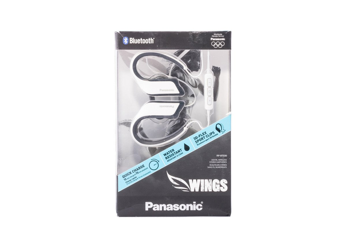 Kopfhörer Panasonic RP-BTS30E White Bluetooth Grade B