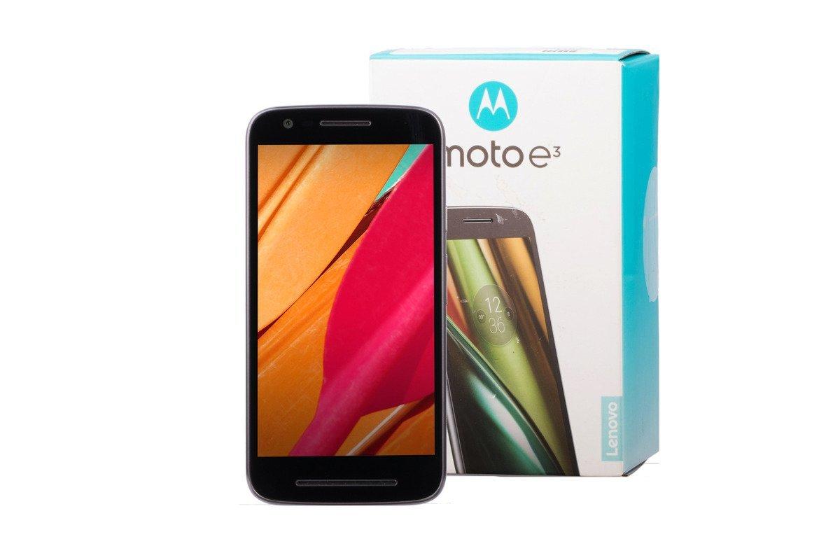 Lenovo Motorola Moto E3 8GB LTE Black Damaged / Faulty
