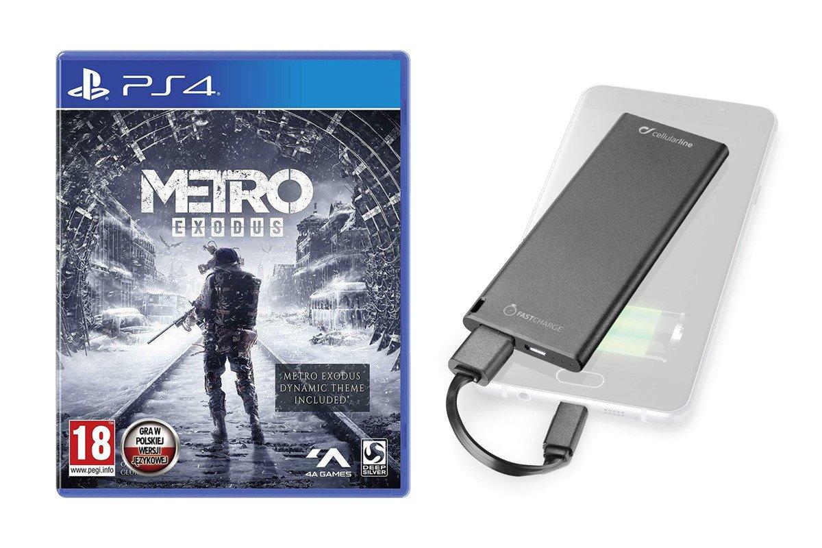 NEU OVP Metro Exodus Day One Edition PS4 + Powerbank 3000 mAh