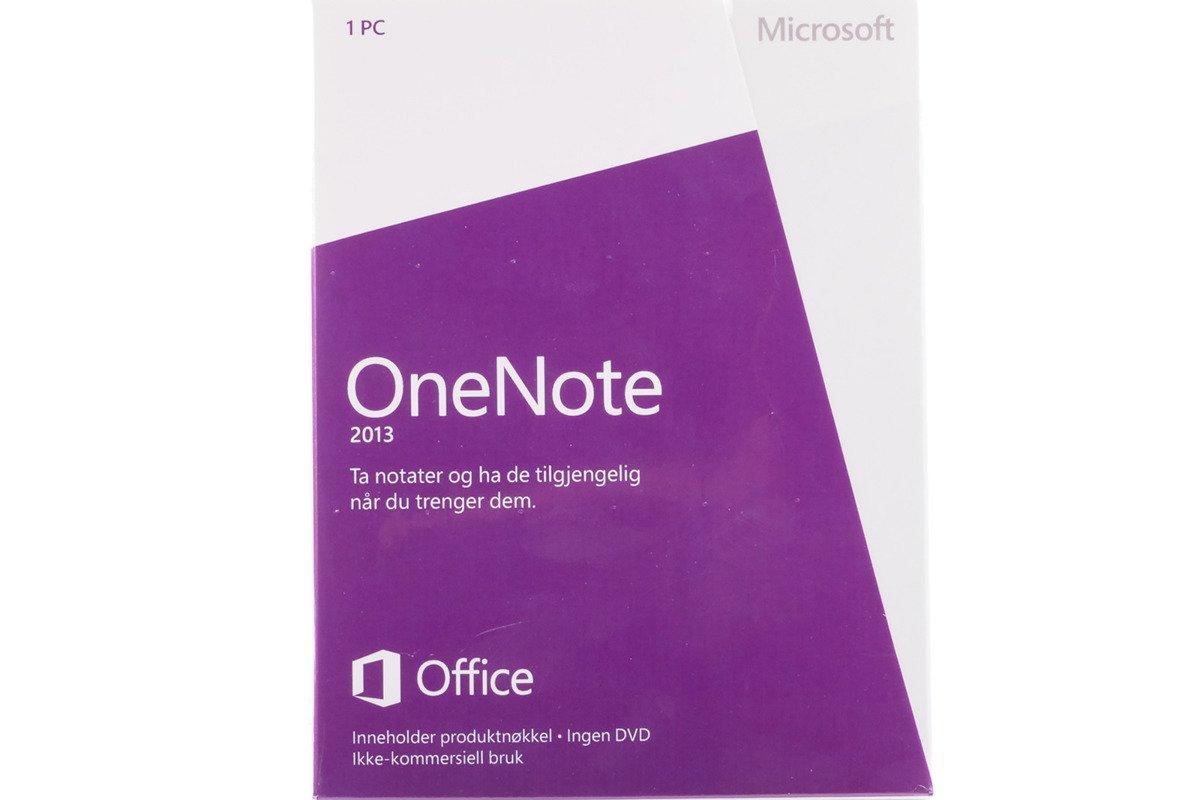 Neu OVP  Microsoft OneNote 2013 S26-05144 Norwegian Mediales Eurozone