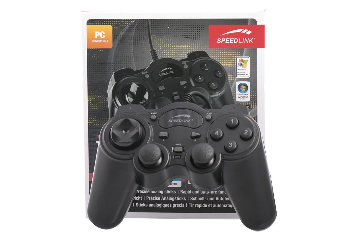 Neu OVP Speedlink Thunderstrike Gamepad PC Controller