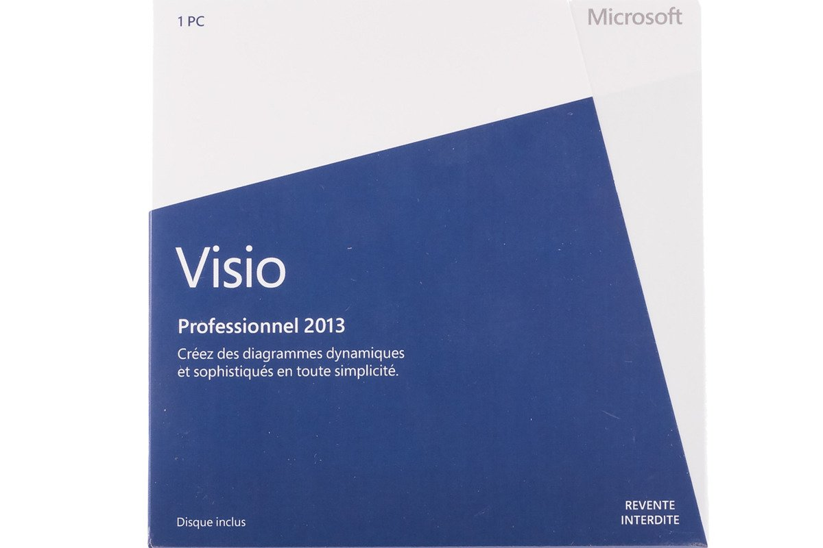 Neu OVP Visio Professional Microsoft 2013 D87-05381 Medialess Eurozone DVD NFR