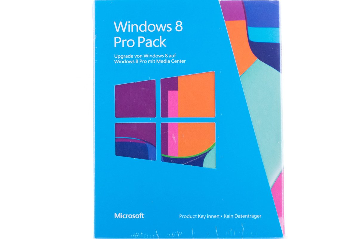 Neu OVP Windows Professional 8 Upgrade PC 5VR-00019 KEY 32/64 Bit Eurozone BOX
