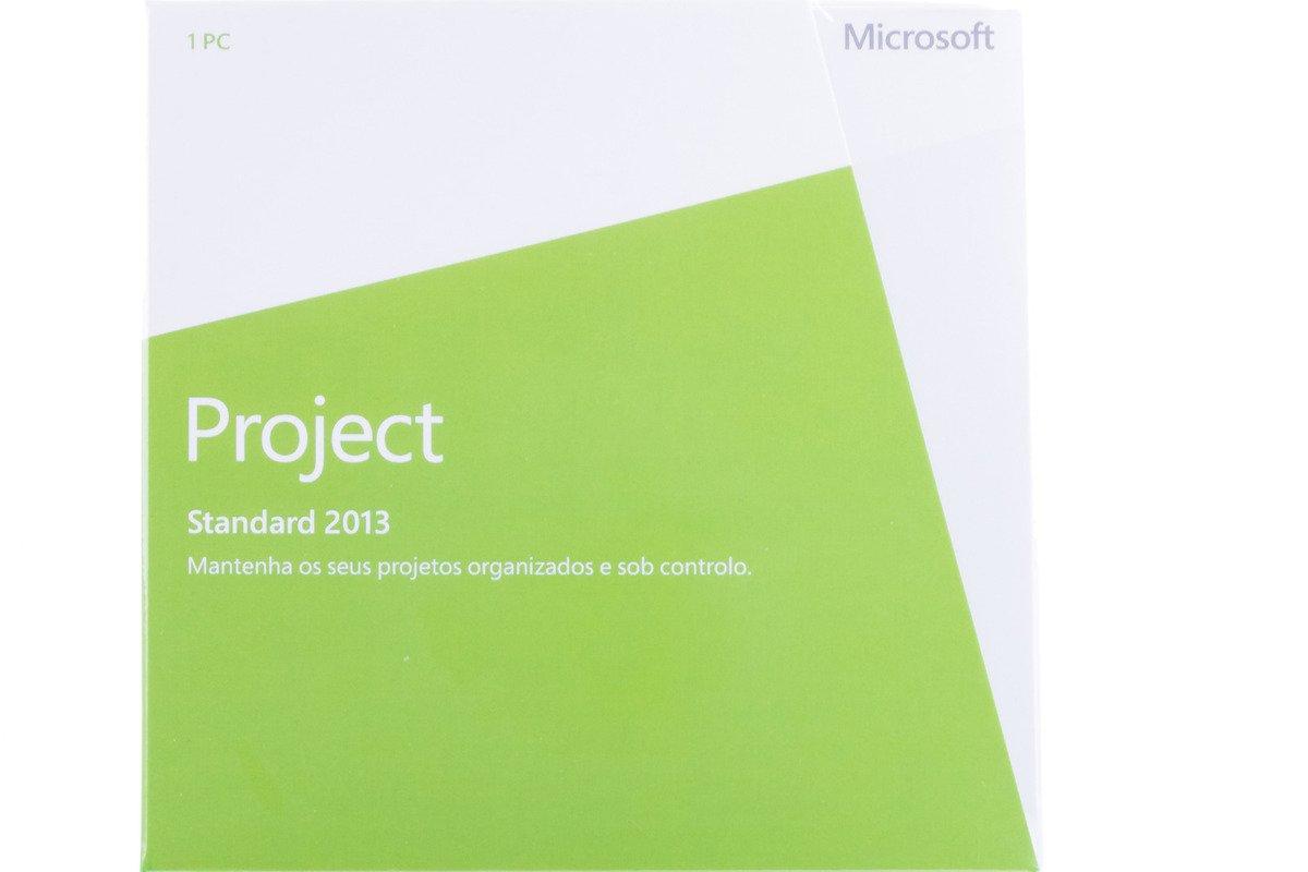 New Genuine Microsoft Project 2013 076-05251 Portugiesisch Afrika Nur DVD BOX