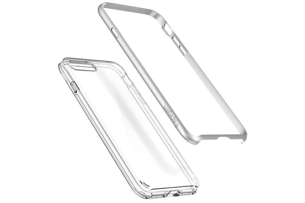 Spigen Neo Hybrid Crystal 2 Iphone 7 Plus Satin Silver Case Cover