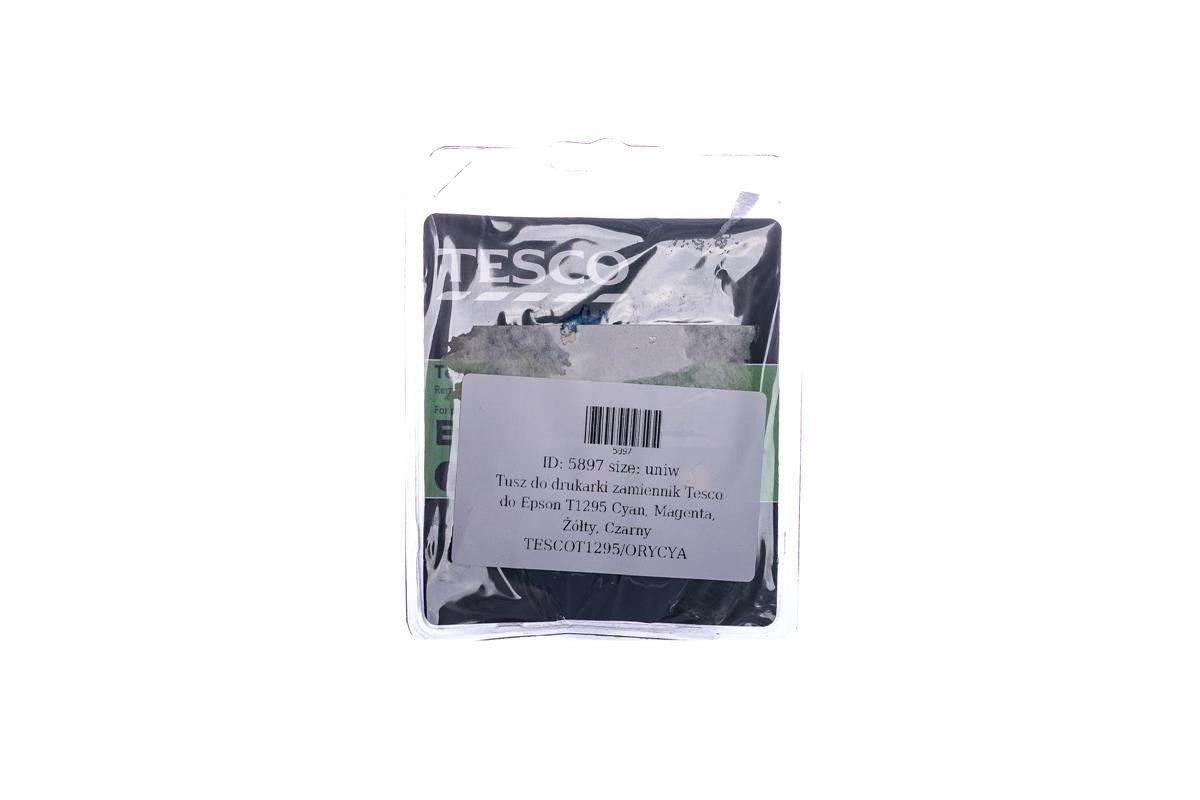 Tesco Tintenpatronen remanufactured Epson T1295 Cyan, Magenta, Gelb, Schwarz