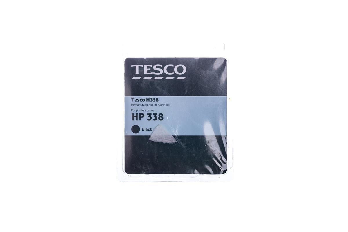 Tesco Tintenpatronen remanufactured HP 338 Schwarz