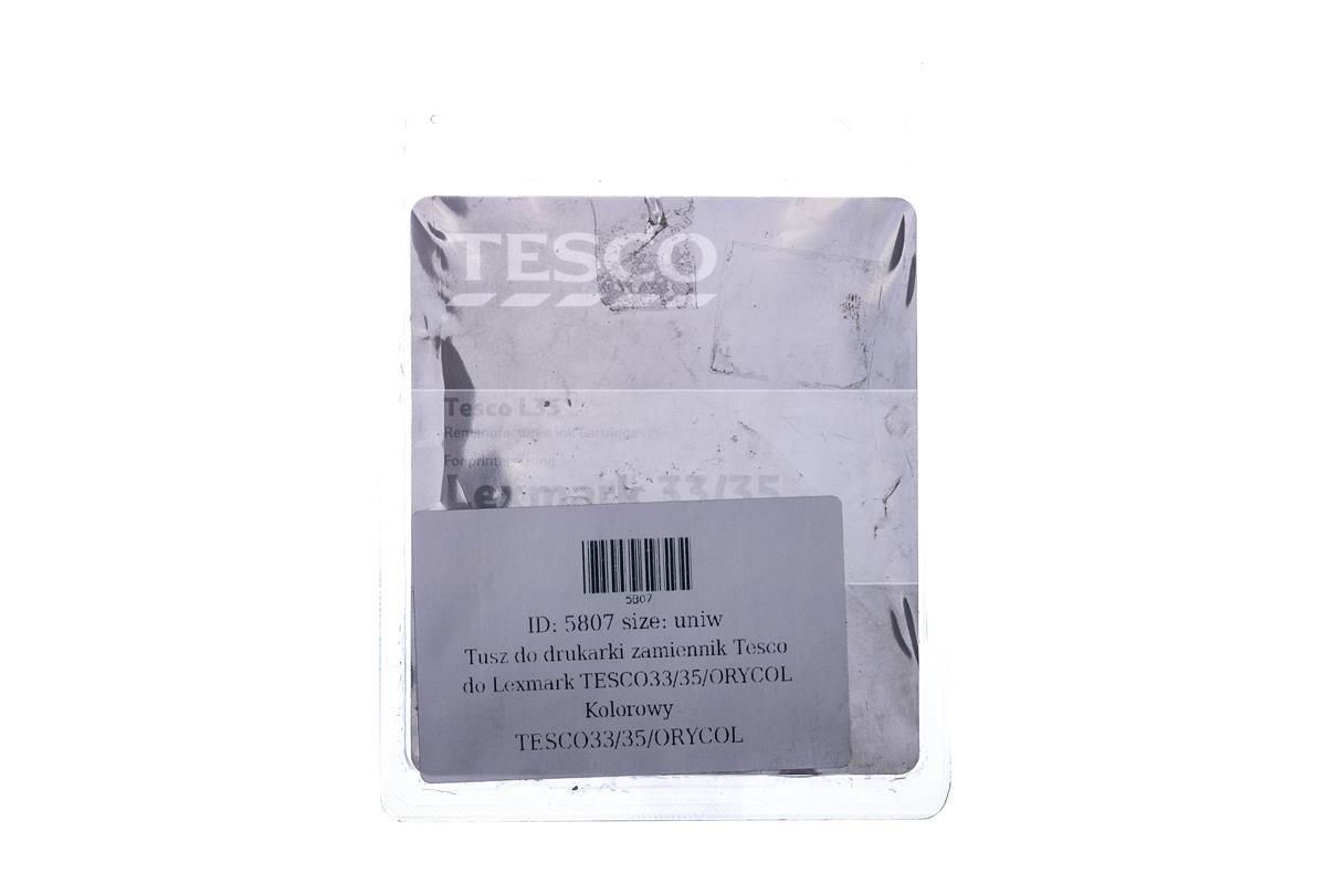 Tesco Tintenpatronen remanufactured  Lexmark 33/35