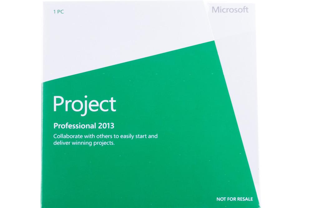 Neu OVP Microsoft Project Professional 2013 H30-03675 Englisch Eurozone