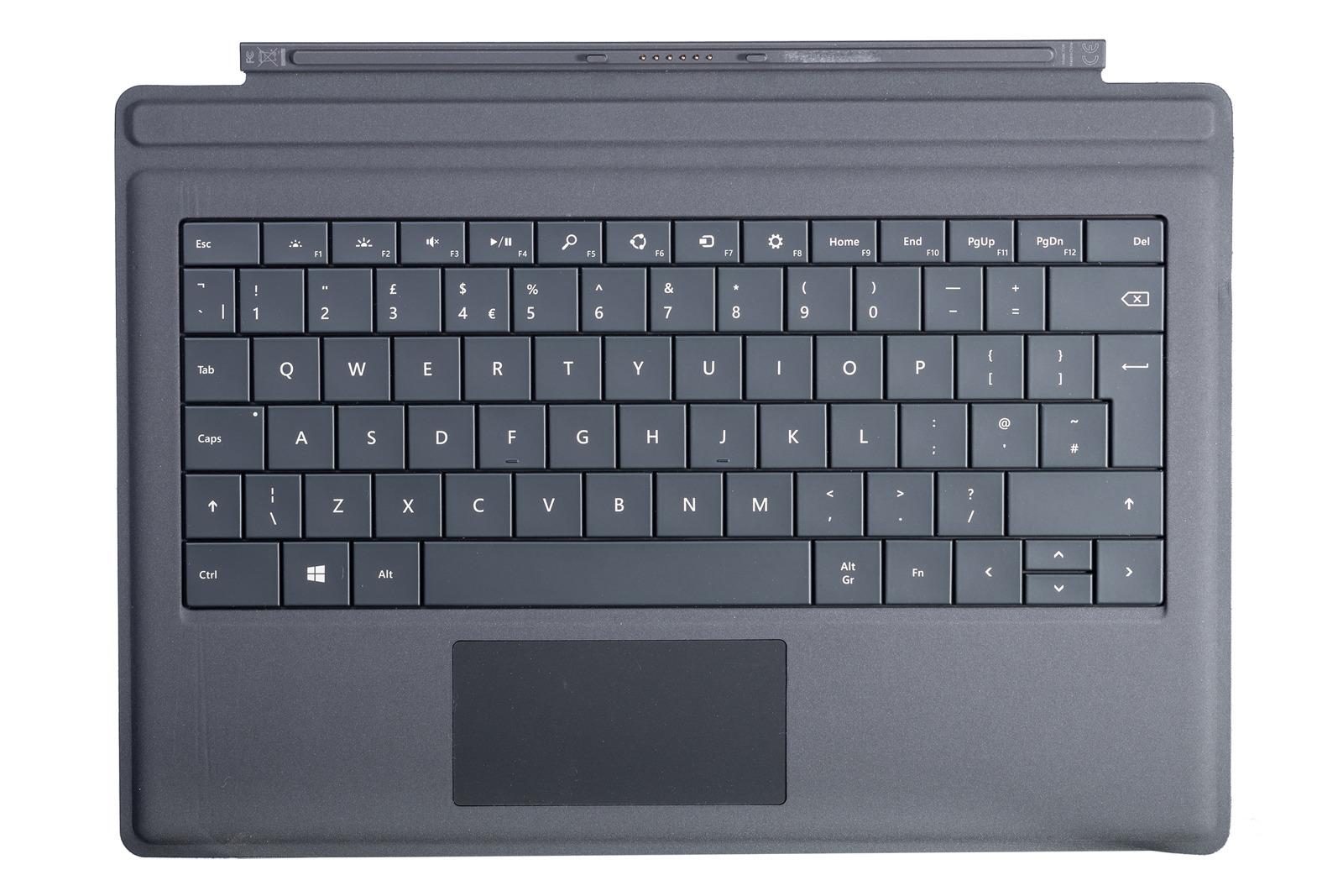 Tastatur Surface Type Cover Pro 3 Schwarz Grade A (britisch)